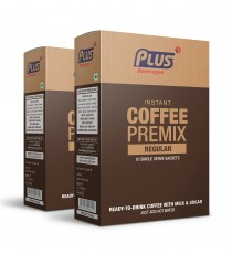 Get Instant Coffee Premix at best price - Free Shipping | Plus Beverages