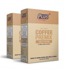 Get Instant Cold Cofee Premix at best price - Free Shipping | Plus Beverages