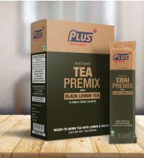 Get Instant Black Lemon Tea Premix at best price - Free Shipping | Plus Beverages