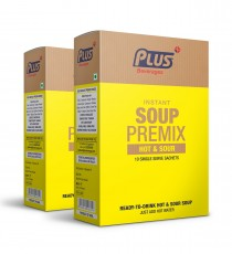 Get Instant Hotsour Soup Premix at best price - Free Shipping | Plus Beverages