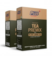 Get Instant Black Tea Lemon Premix at best price - Free Shipping | Plus Beverages