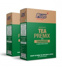 Get Instant Cardamom Tea Premix at best price - Free Shipping | Plus Beverages