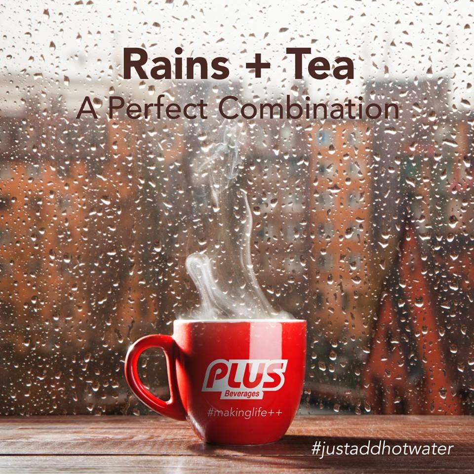 Tea in Rain