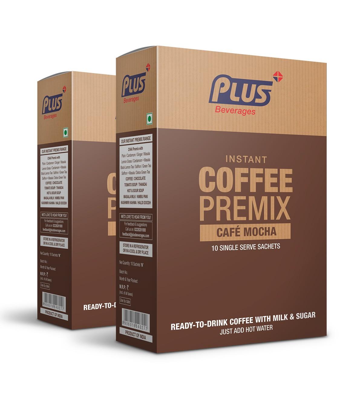 Get Instant Café Mochha Premix at best price - Free Shipping | Plus Beverages