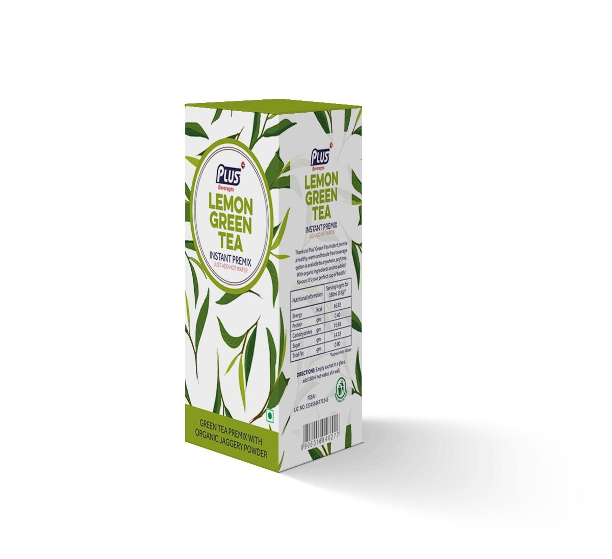 Get Instant Lemon Green Tea Premix at best price - Free Shipping   Plus Beverages
