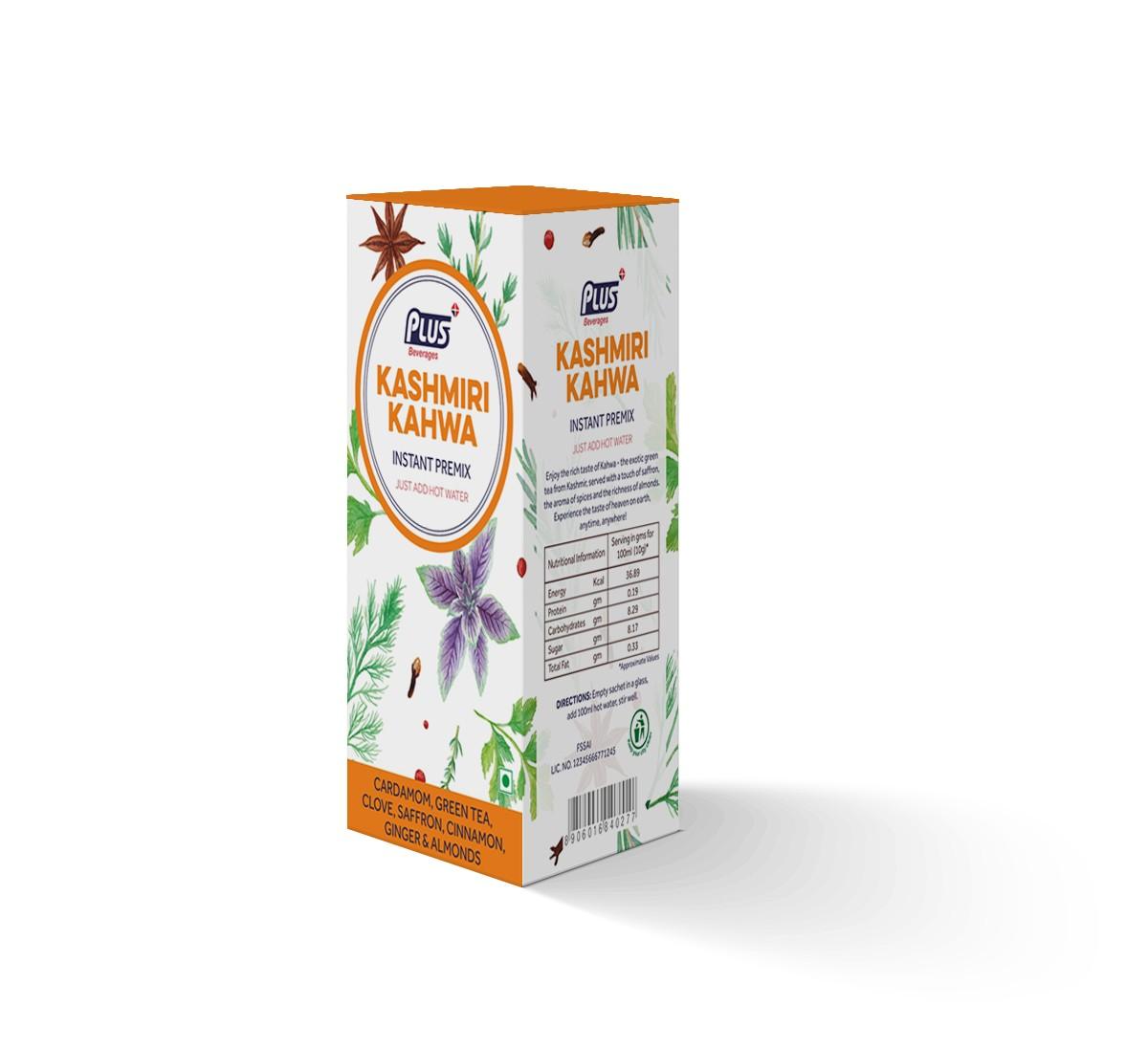 Get Instant Kashmiri Kahwa Premix at best price - Free Shipping   Plus Beverages