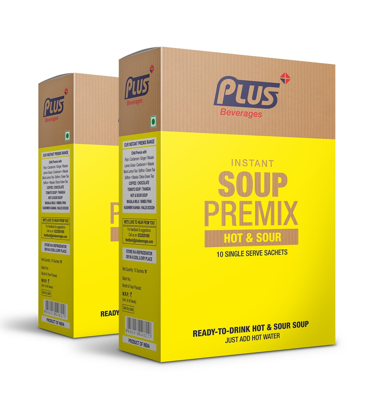 Get Instant Hotsour Soup Premix at best price - Free Shipping   Plus Beverages