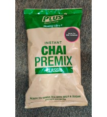 Plus Beverages Instant Green Tea With Cardamom Premix (1 KG)