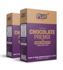 Get Instant Chocolate Premix at best price - Free Shipping | Plus Beverages