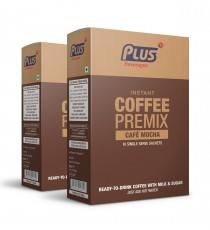 Get Instant Café Mochha Premix at best price - Free Shipping | Plus Beverages