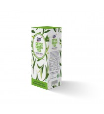 Get Instant Detox Green Tea Premix at best price - Free Shipping | Plus Beverages