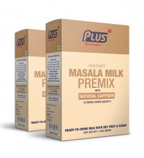 Get Instant Dry Fruit Masala Milk Premix at best price - Free Shipping | Plus Beverages