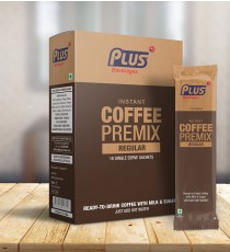 Get Instant Hot Coffee Premix at best price - Free Shipping | Plus Beverages