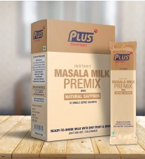 Get Instant Masala Milk Premix at best price - Free Shipping | Plus Beverages