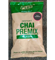 Plus Beverages Instant Chai Tea Premix With Ginger (1 KG)