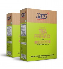 Get Instant Tea With Lemon Grass Premix at best price - Free Shipping | Plus Beverages