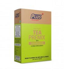 Plus Beverages Instant Chai Tea Premix With Lemon Grass (10 Sachets)