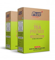 Get Instant Lemon Grass Tea with Low Sugar Premix at best price - Free Shipping | Plus Beverages