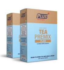 Get Instant Plain Tea Premix at best price - Free Shipping | Plus Beverages