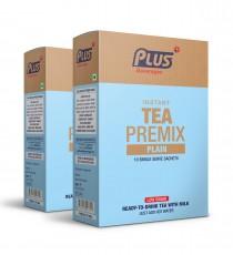 Get Instant Plain Tea Low Sugar Premix at best price - Free Shipping | Plus Beverages